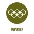 Página web del servicio de Deportes